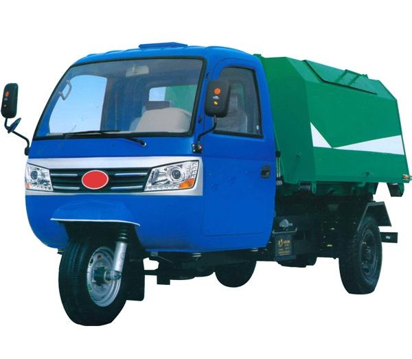 3立方移动垃圾箱配套车辆(三轮)